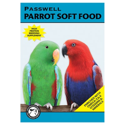 PASSWELL Parrot Concentrated Soft Food Supplement - 2 Sizes