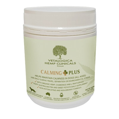Vetalogica Hemp Clinicals Calming Plus Dog Supplement 300g