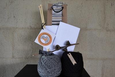 Double Delight Pure Alpaca Yarn Knit Kit