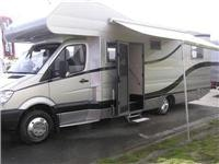 Stylish medium motorhome