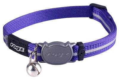 Rogz Alleycat Safeloc Collar Purple