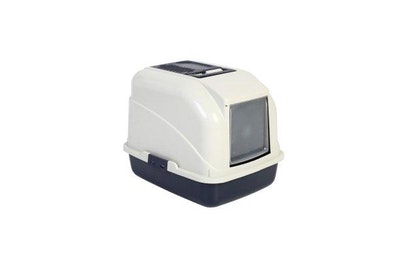 Bono Fido Cat Toilet 26801 Hooded With Filter and Scoop