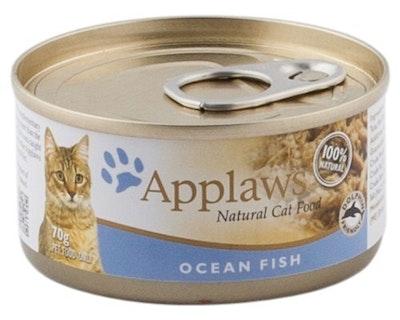 Applaws Natural Cat Food Ocean Fish Tin 70g 24 Pack
