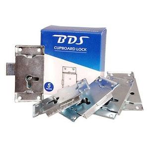 BDS Box of x 5 Wardrobe & Cupboard Locks