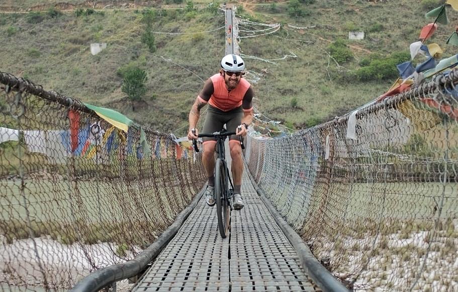 Santini - Jack Ultra cyclist's Bhutan experience