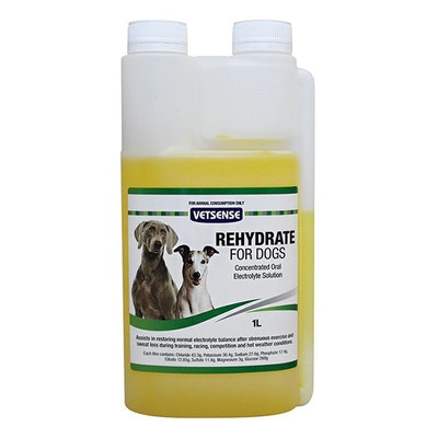 Vetsense Rehydrate Electrolyte Balance Maintenance for Dogs - 2 Sizes