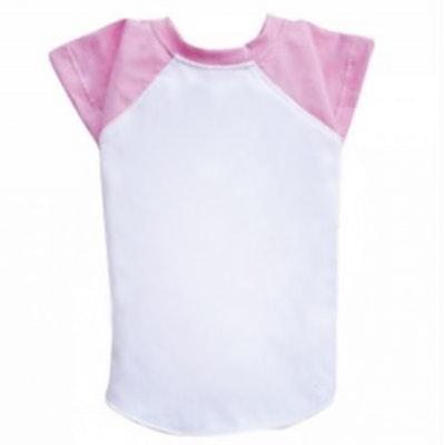 DoggyDolly BIG DOG - Pink & White Doggy T Shirt