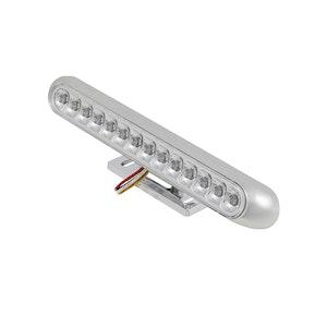 LED Rear Tail Light Integrated Indicators - Chrome