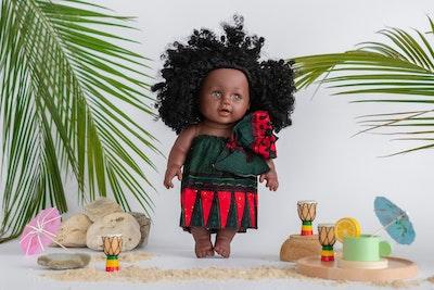 Designed by Florence Ginika Ima Doll