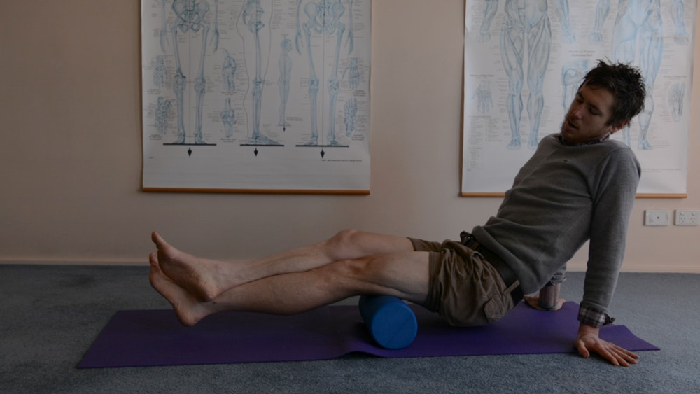 foam roller exercises for cyclists hamstrings