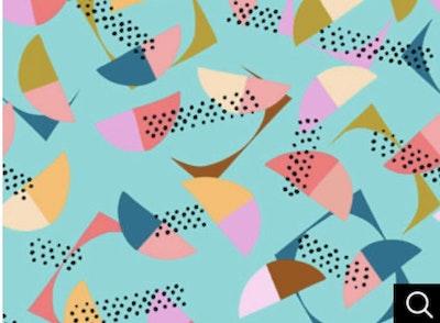 'Mint Umbrellas' Step in Strap Harness