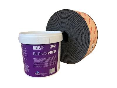 Blend Prep (Scuff Stuff) 3kg & Premium Grey Scotchbrite Roll Deal
