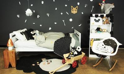 Tinitrader's new #TTStyleSeries Room Reveal with La De Dah Kids & Grotime