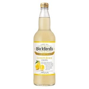 Bickford's Traditional Lemon Juice Cordial 750mL