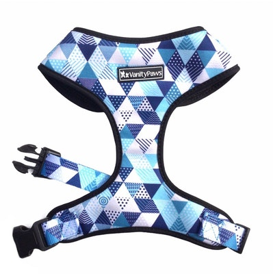 VanityPaws Boy in Blue - Adjustable Chest Harness