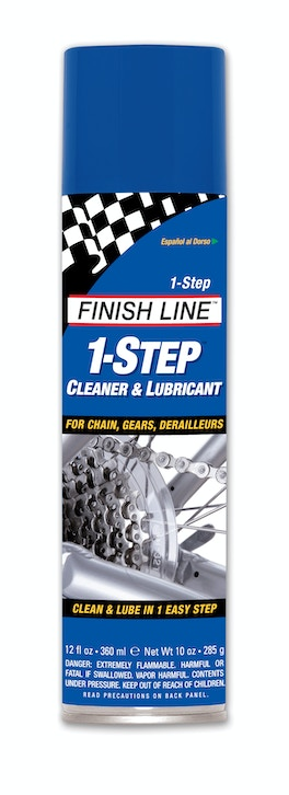 1-STEP CLEANER & LUBE 12oz AERO DG6, Chain Lubricants