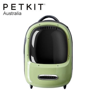 PETKIT Evertravel   Cat Backpack   Green