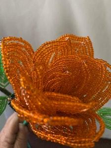 Handmade By Bronzerose Beaded Rose 2021