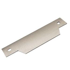 BDS blocker plate in stainless steel to suit Padde electric strikes ES200 & ES2000