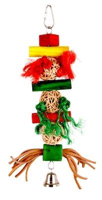 Bono Fido Bird Toy Kebab Multi Texture