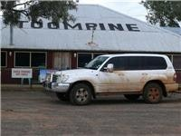 Angle parking is any angle at Toompine, Queensland
