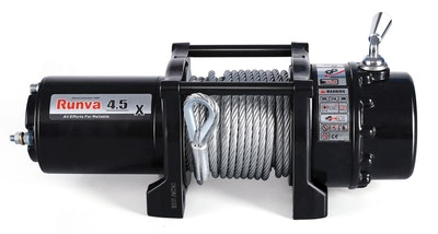 Runva 4.5X 24V with Steel Cable