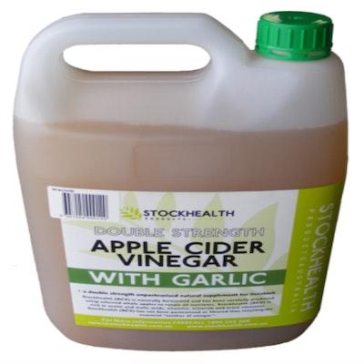 Stockhealth Apple Cider Vinegar with Garlic 5L