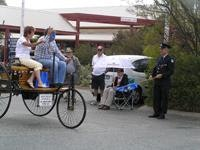 1885 Benz leads the Rally away