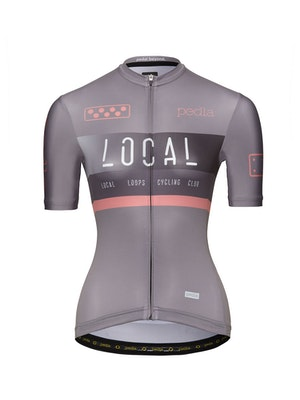 Pedla Team / Women's LunaLUXE Jersey - Etch Grey