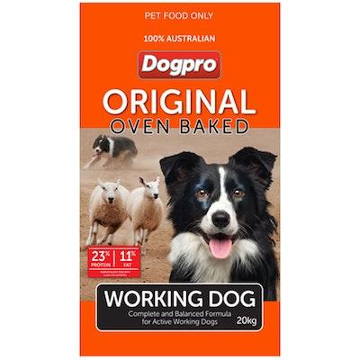 Dogpro Original Oven Baked Working Dry Dog Food 20kg