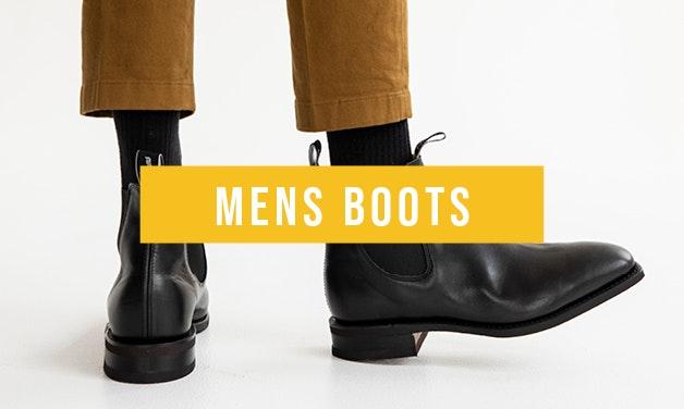 Shop Mens Boots on Crèmm