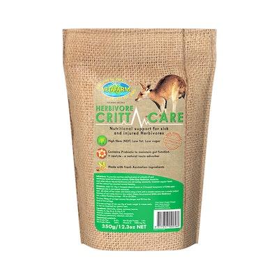 Vetafarm Herbivore Crittacare Force Feeding Formula Sick Injured 350g