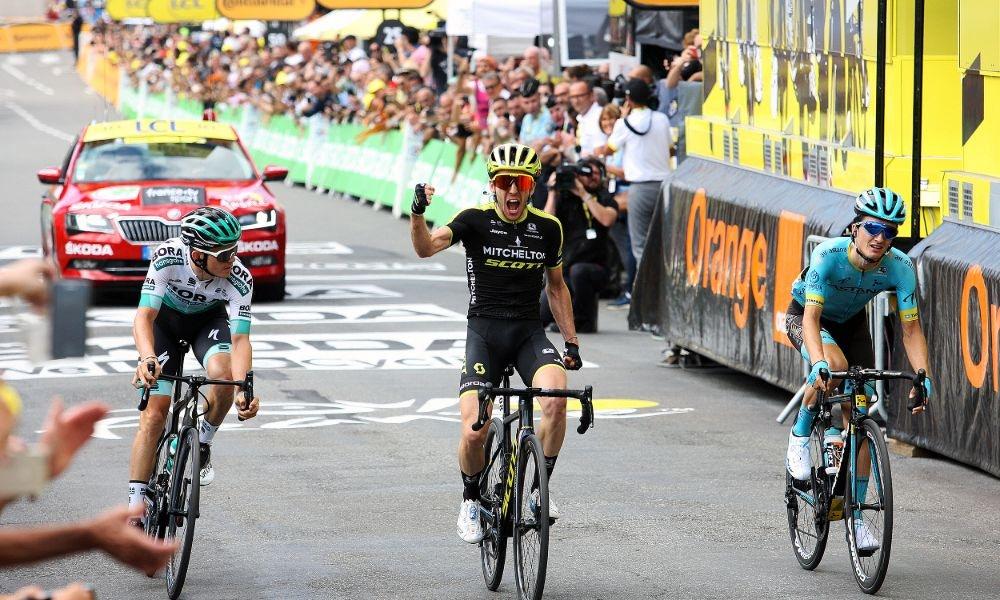 Simon Yates Toma la Fuga por Sorpresa - La Etapa 12 del Tour 2019.
