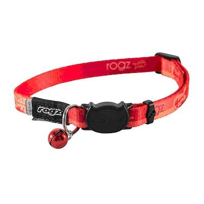 Rogz Kiddycat Collar 8mm Tango Fishbone