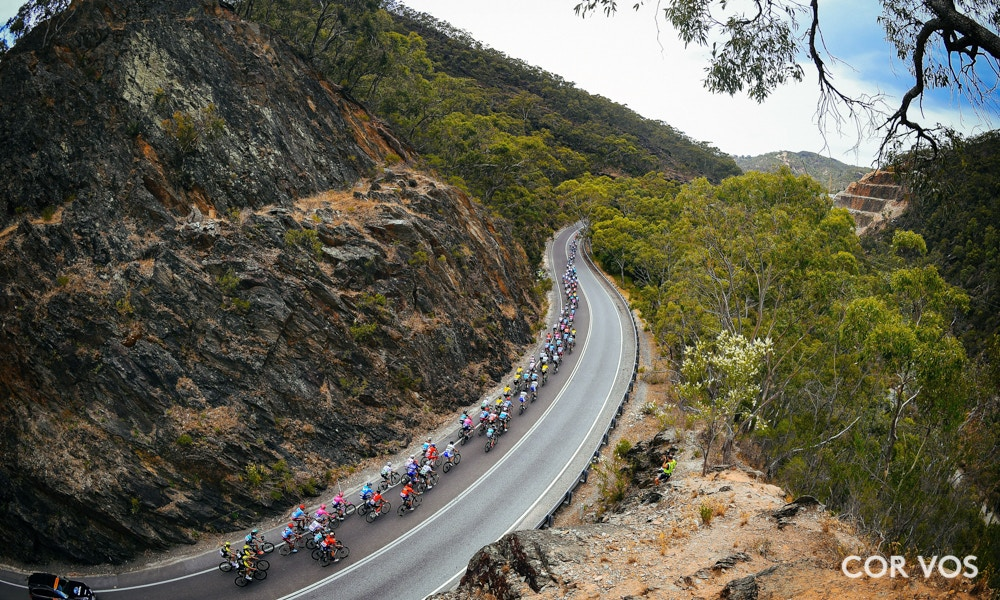 Santos Tour Down Under Stage Three Race Results