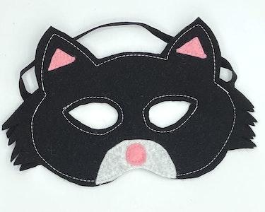 Wool Felt Cat Masks