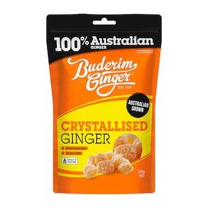 Buderim Ginger Crystallised Ginger 250g