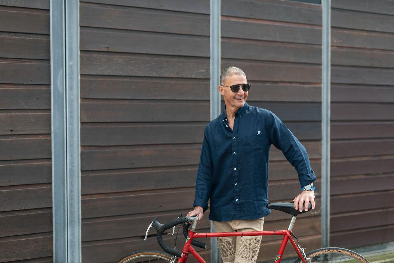 Après Vélo founder and owner, Leonard Greis