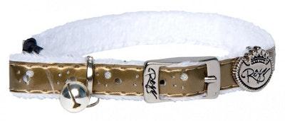 Rogz Collar Pin Buckle Trendycat Gold