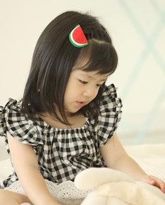 Checkered Wing Blouse (1-3 years old)