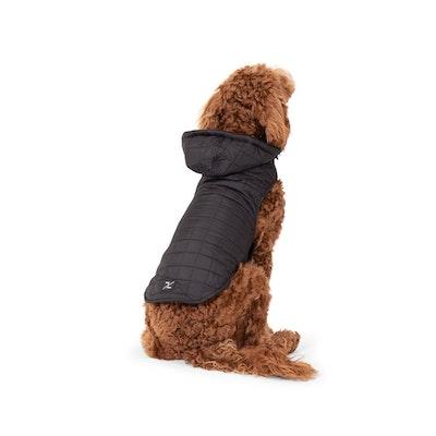 Mog & Bone Waterproof Dog Puffer Jackets Black - 6 Sizes