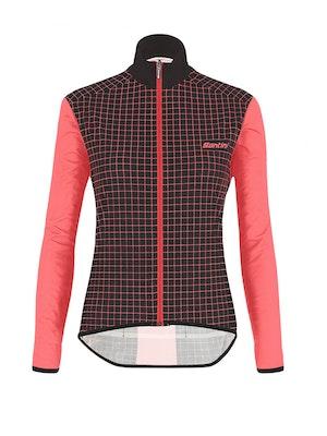 Santini SMS Womens Nebula Rain Jacket
