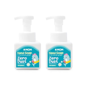 K-MOM Zero-Dust Hand Soap (Fruity Floral) - Twin Pack (2x250mL)