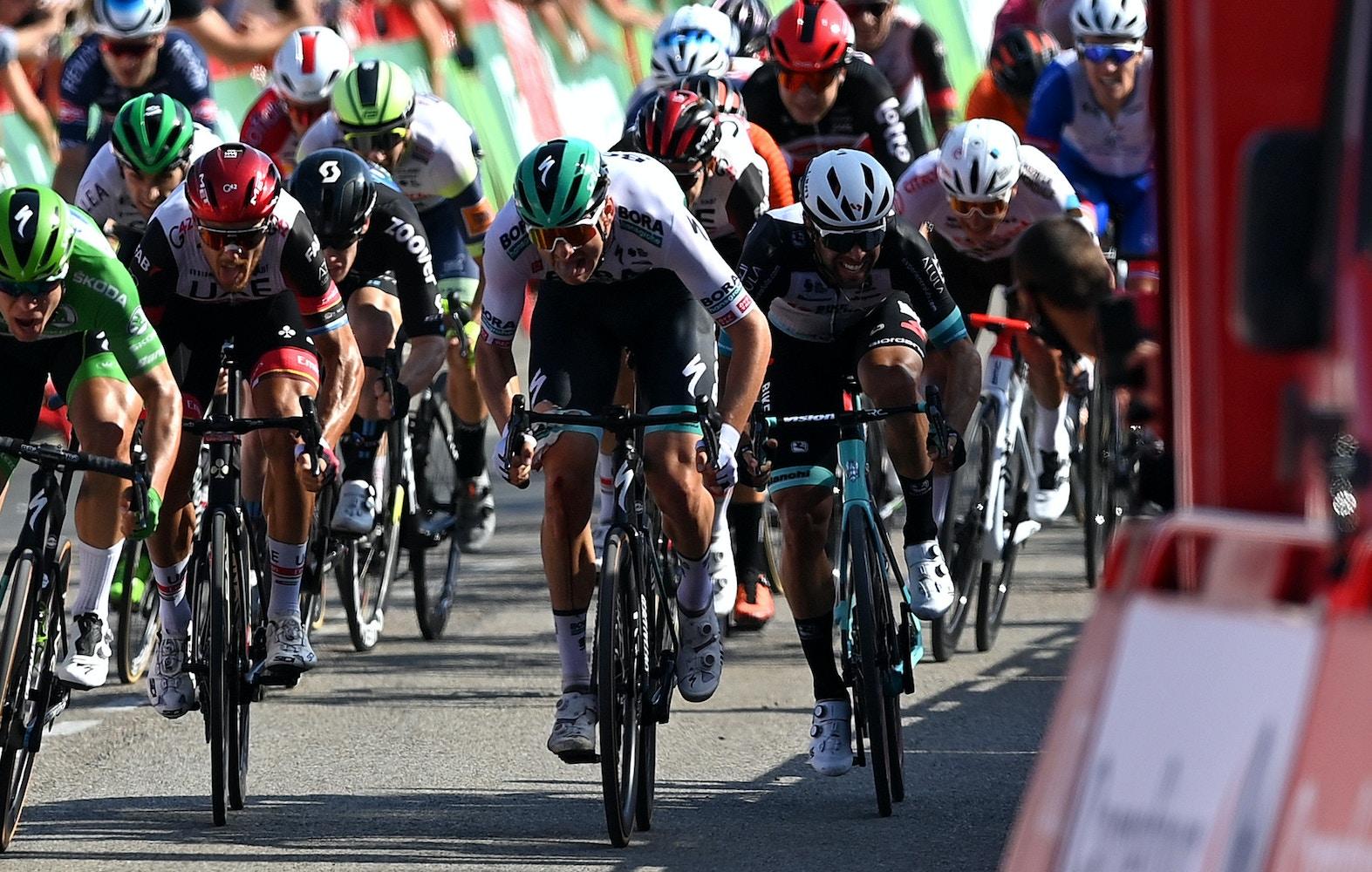 Matthews Queda en el Top 5 por Cuarta vez en la Etapa 16 de La Vuelta a España