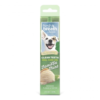Tropiclean Fresh Breath Gel Vanilla Mint 59ml