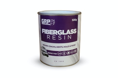 Fibreglass Polyester Resin 500g