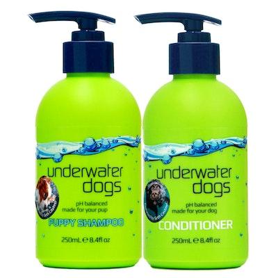 Underwater Dogs Puppy Shampoo & Conditioner Combo