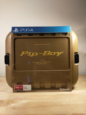 Fallout 4 Pip-Boy Edition PlayStation 4 With Game and Steelcase