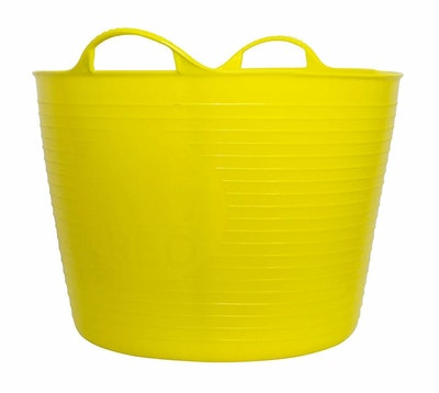 Tubtrugs Tubtrug Non Toxic Flexible Strong Bucket Large 38L Yellow