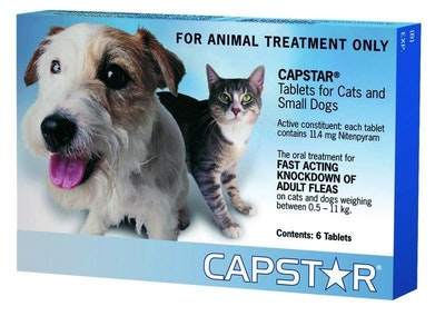 Capstar Flea Tablets for Small Dogs and Cats